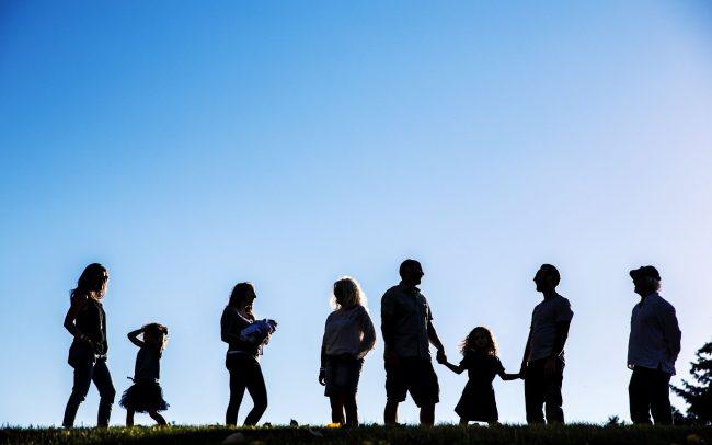 lifestyle family portrait