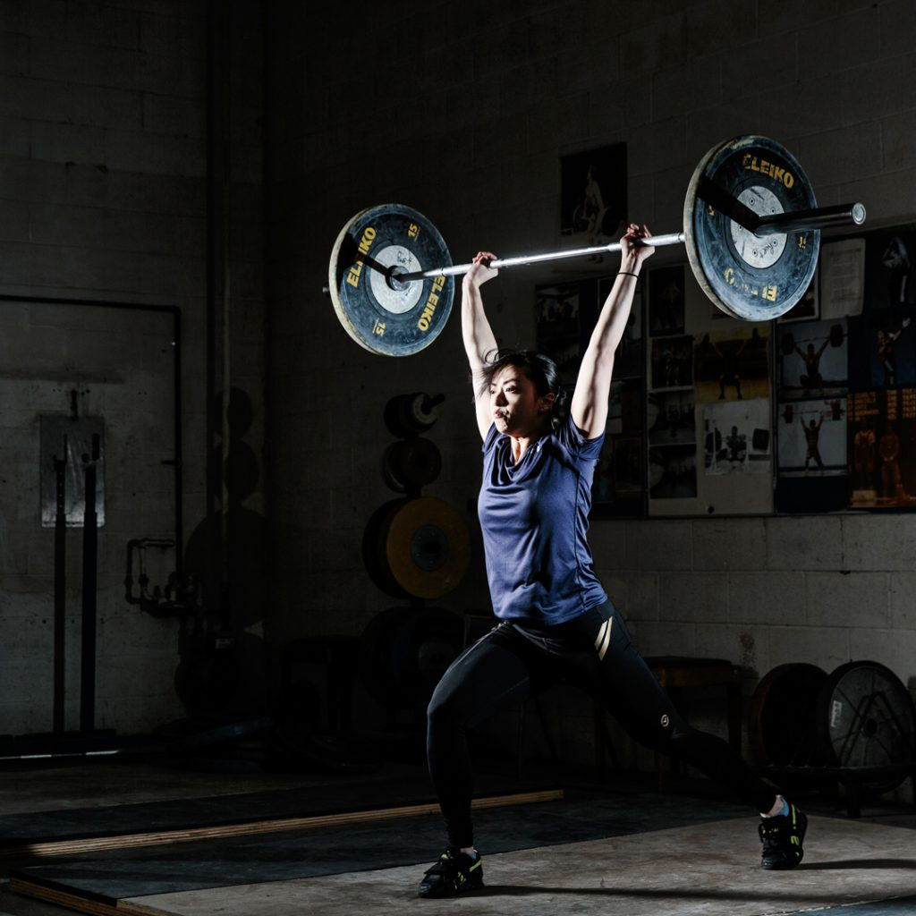 clean and jerk olympic lifting